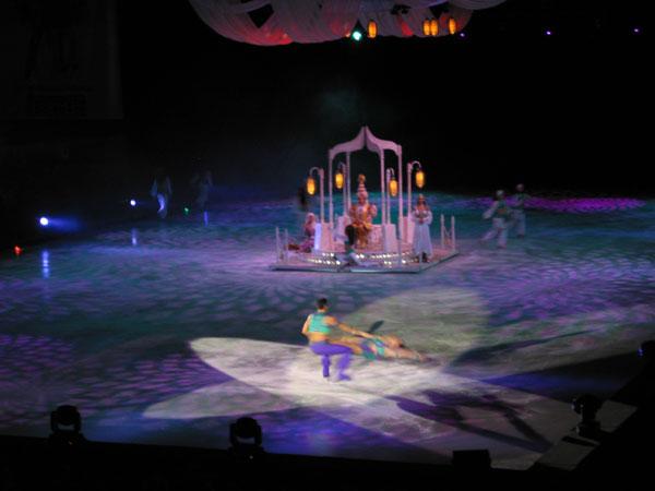 Аладдин на льду ледовое шоу в Лужниках