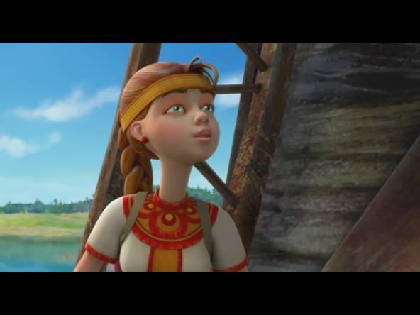 Мультик Приключения Аленушки и Еремы 2