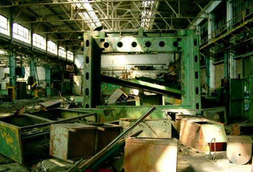В таком виде завод Москвич достался своему покупателю