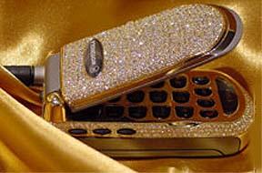 Мобильный телефон, инкрустированный бриллиантами уже не средство связи, а предмет роскоши