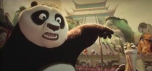 Толстая и неуклюжая панда выбрана для борьбы со злом