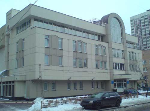 Здание пенсионного фонда Москва