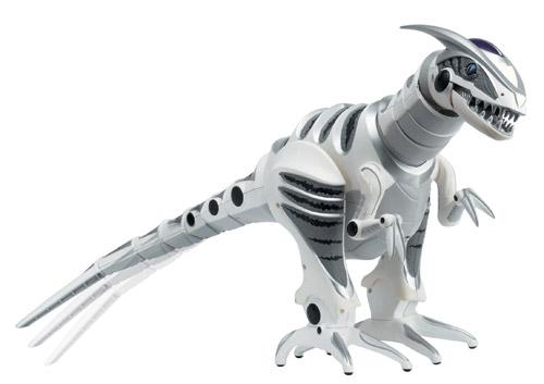 хищьный роботизированный динозавр, кусается, быстро бегает, управляется с пульта
