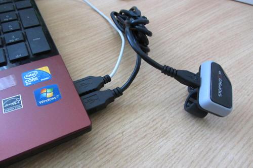 Подключаем StopSleep через длинных кабель microusb