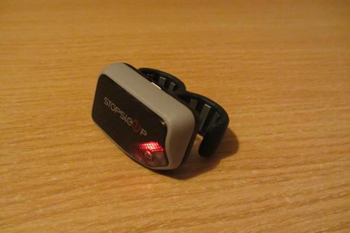 StopSleep горит красный светодиод, показывая, что нет контакта