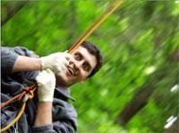 Тимбилдинг, лесные приключения